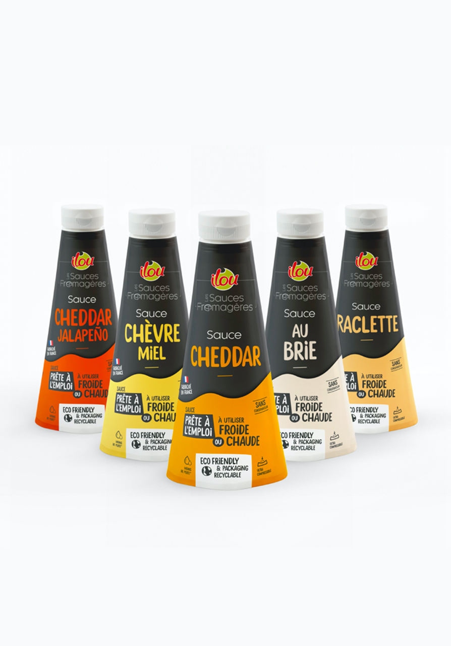 Sauces fromagères Ilou Emballage Responsable